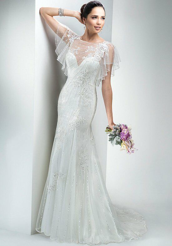 Maggie sottero savannah wedding dress the knot for Wedding dress savannah ga