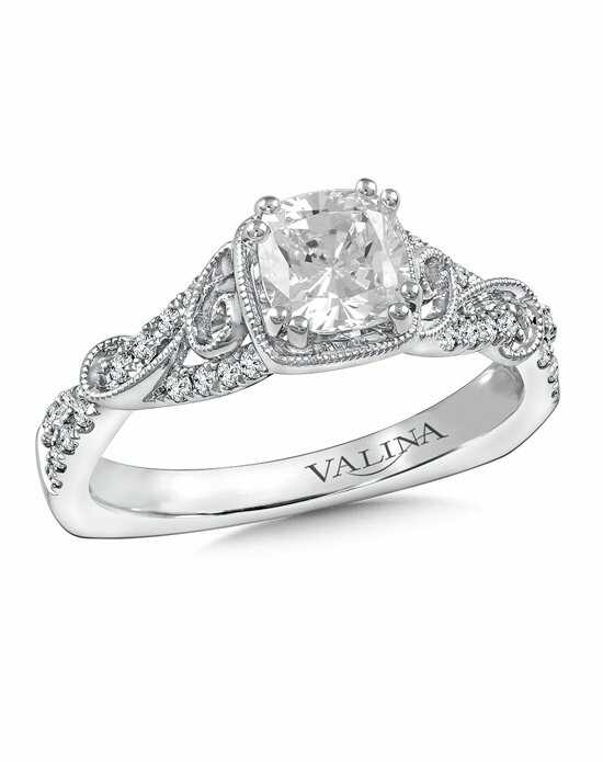 Valina Cushion Cut Engagement Ring
