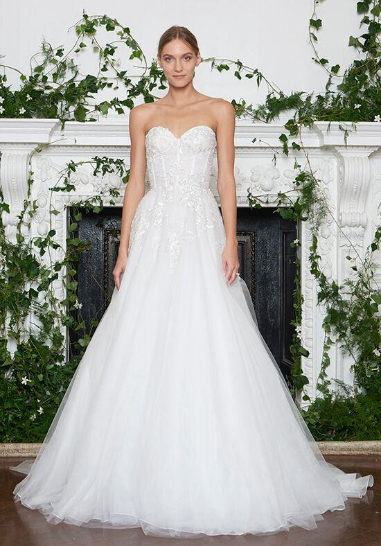 Monique Lhuillier Princeton A Line Wedding Dress