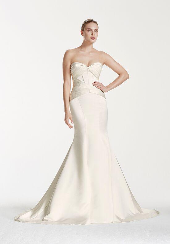 Truly zac posen at david 39 s bridal truly zac posen style for Zac posen short wedding dress