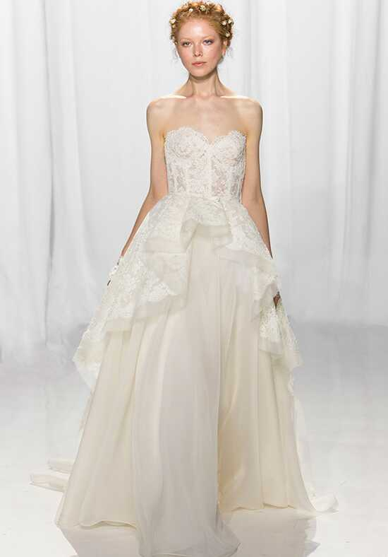 Reem Acra 5653 Ball Gown Wedding Dress