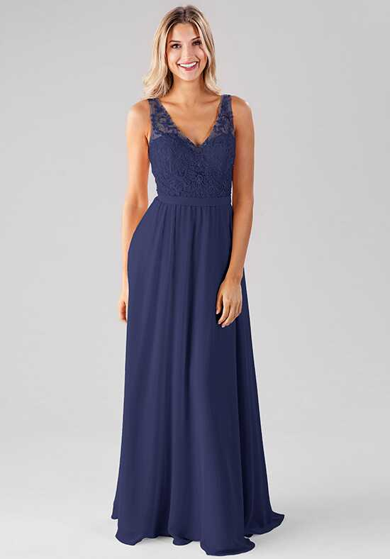 Kennedy Blue Betsy V-Neck Bridesmaid Dress