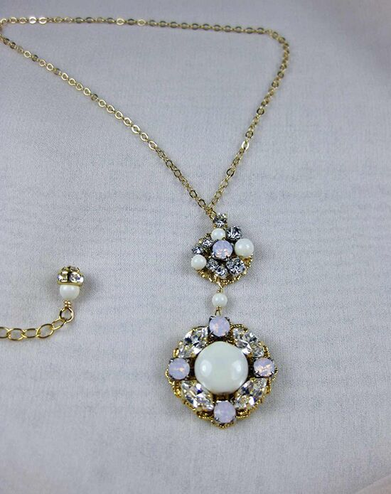 Everything Angelic Caroline Necklace - n340 Gold Wedding Necklace photo
