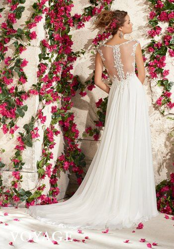 Morilee by Madeline Gardner/Voyage 6792 A-Line Wedding Dress