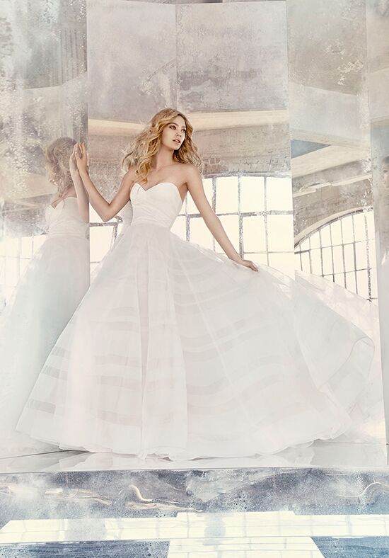 Hayley Paige 6614 Lily A-Line Wedding Dress