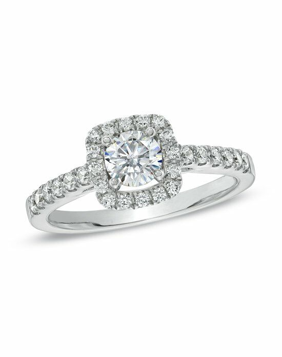 celebration diamond collection at zales celebration fire 78 ct tw diamond engagement - Zales Wedding Rings For Her
