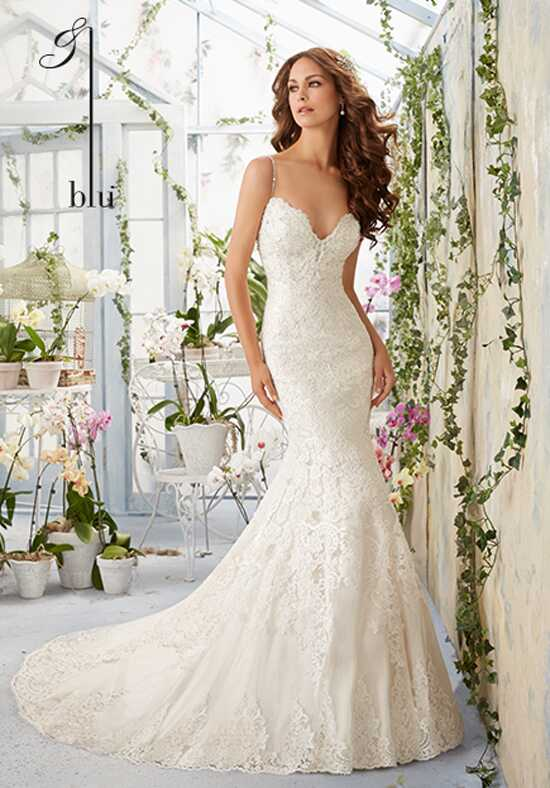 Morilee by Madeline Gardner/Blu 5415 Sheath Wedding Dress