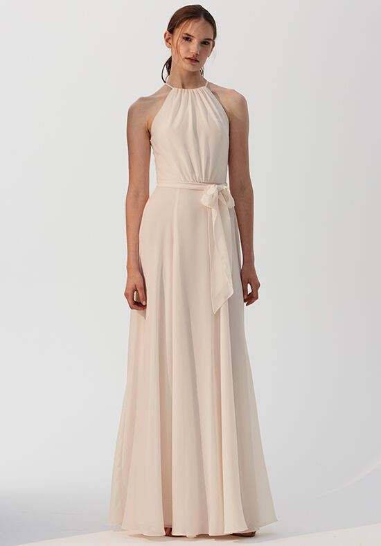 Amsale Bridesmaids Kyra Halter Bridesmaid Dress