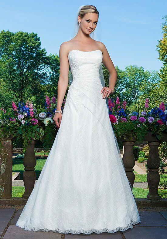 Sincerity Bridal 3867 A-Line Wedding Dress