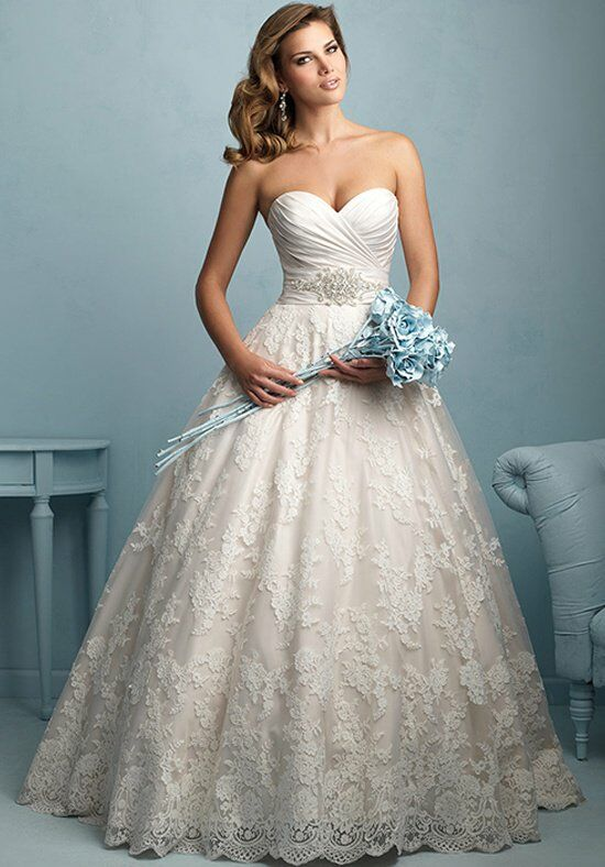 Allure Bridals 9155 Wedding Dress - The Knot