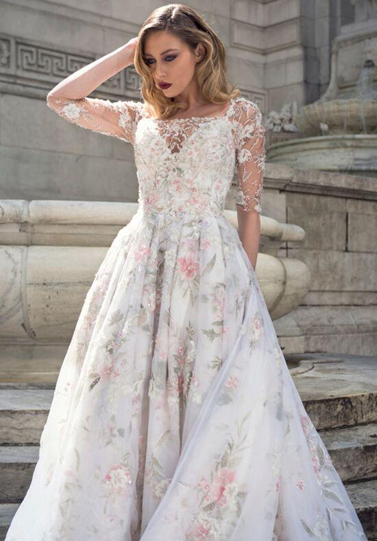 wedding dress designer stephen yearick stephen yearick ksy49 wedding dress the knot