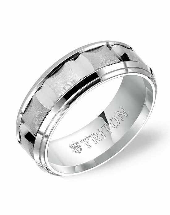 Triton 11-4812HC-G Tungsten Wedding Ring