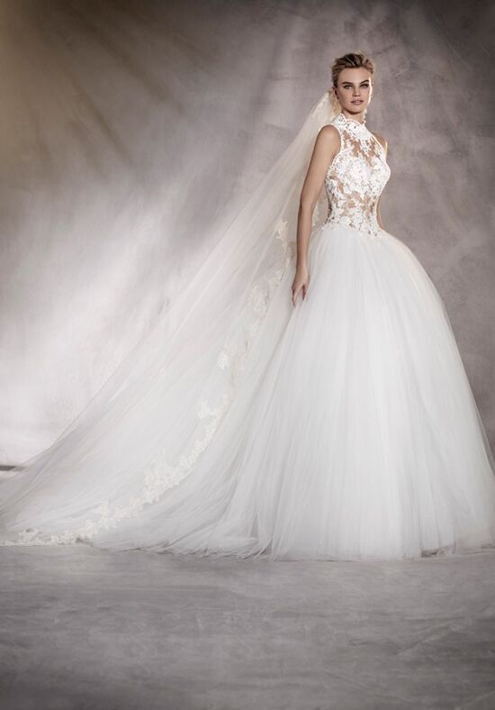 PRONOVIAS ALMERIA Ball Gown Wedding Dress