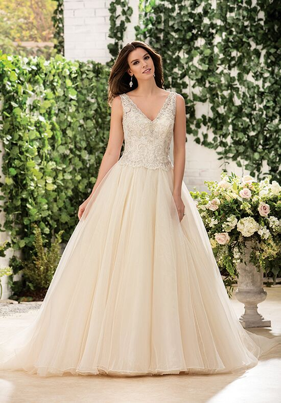 Jasmine Collection F181065 Ball Gown Wedding Dress