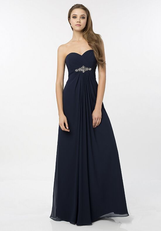 Bill Levkoff 779 Strapless Bridesmaid Dress