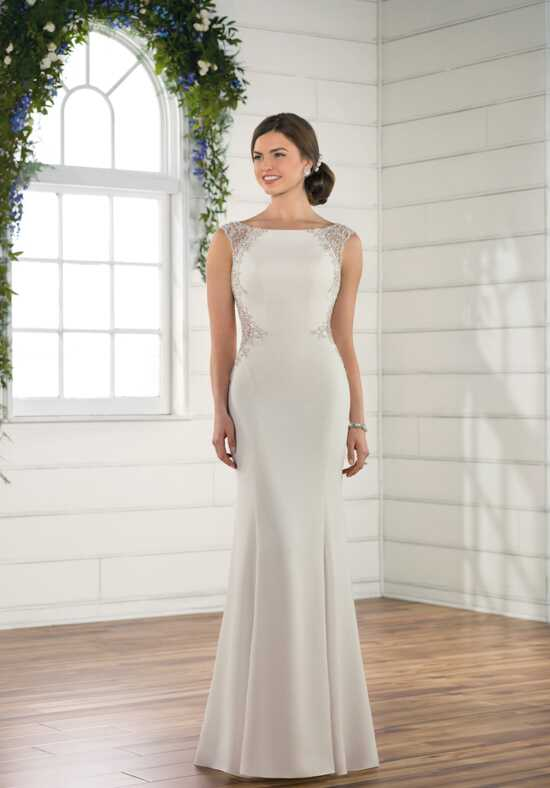 Essense of Australia D2492 Sheath Wedding Dress