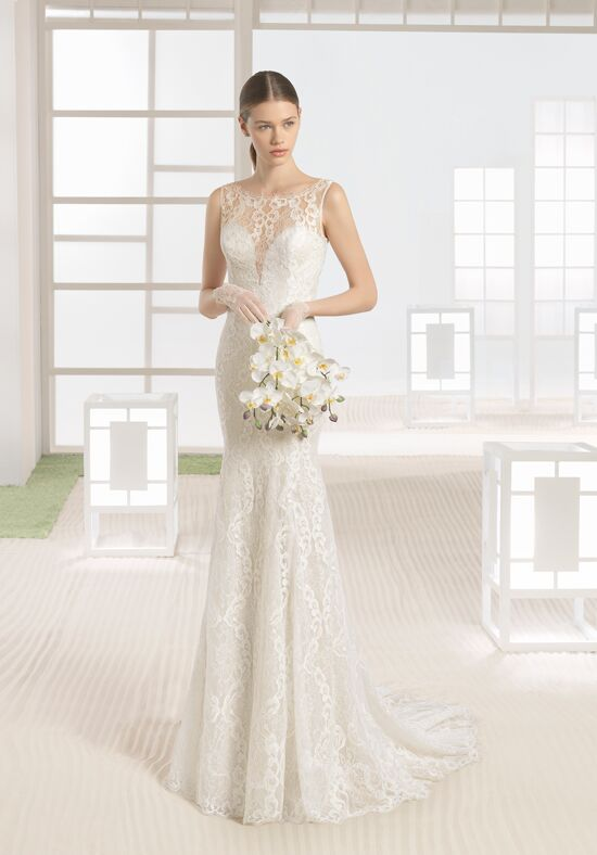 Soft by Rosa Clará Wayra Sheath Wedding Dress