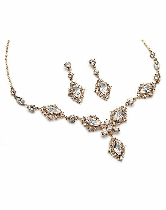 USABride Dynasty Gold Jewelry Set JS-618-G Wedding Necklace photo