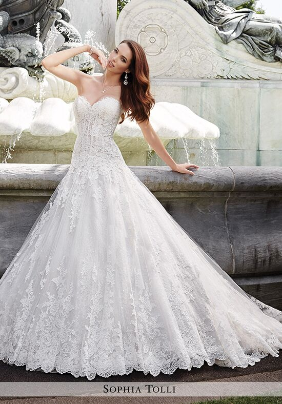 Sophia Tolli Y21658 Trevi Ball Gown Wedding Dress