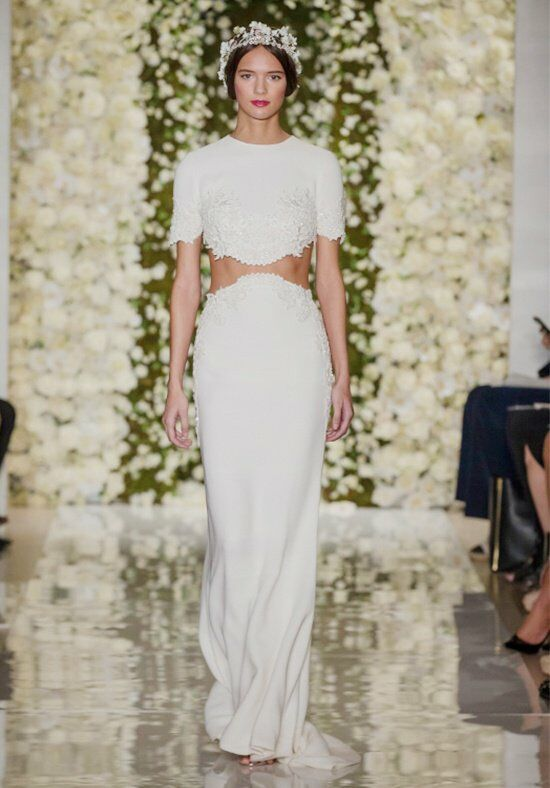 Reem Acra I'm Chic Mermaid Wedding Dress