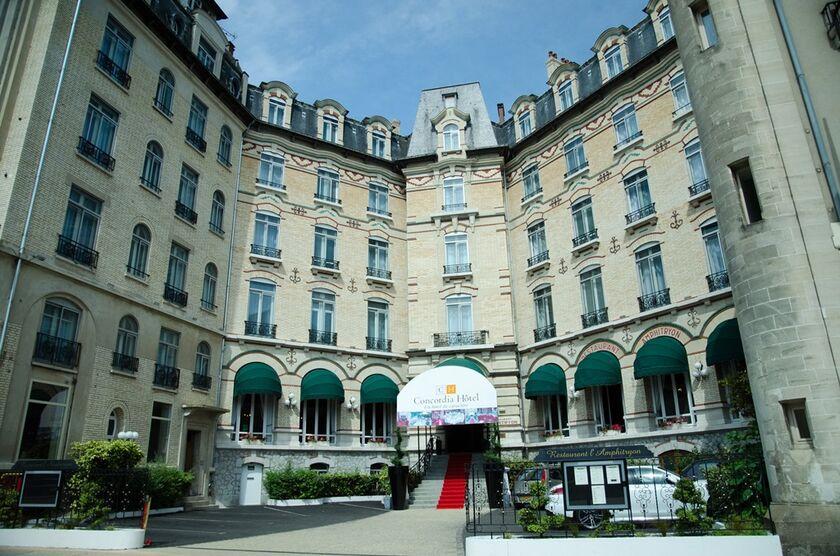Hotel Concordia Le Mans Centre Gare LeMans France