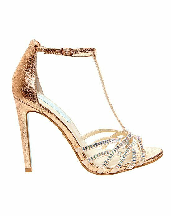 Blue By Betsey Johnson SB RUBY   ROSE GOLD Gold Shoe