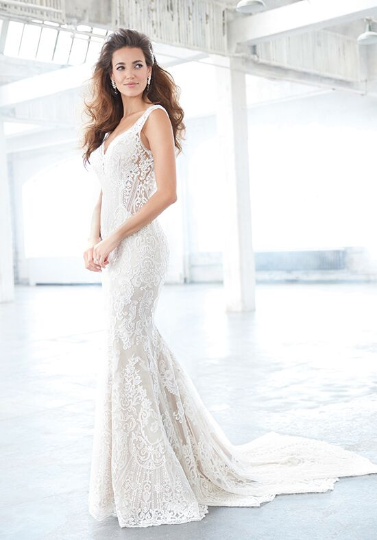 Madison James MJ310 Sheath Wedding Dress