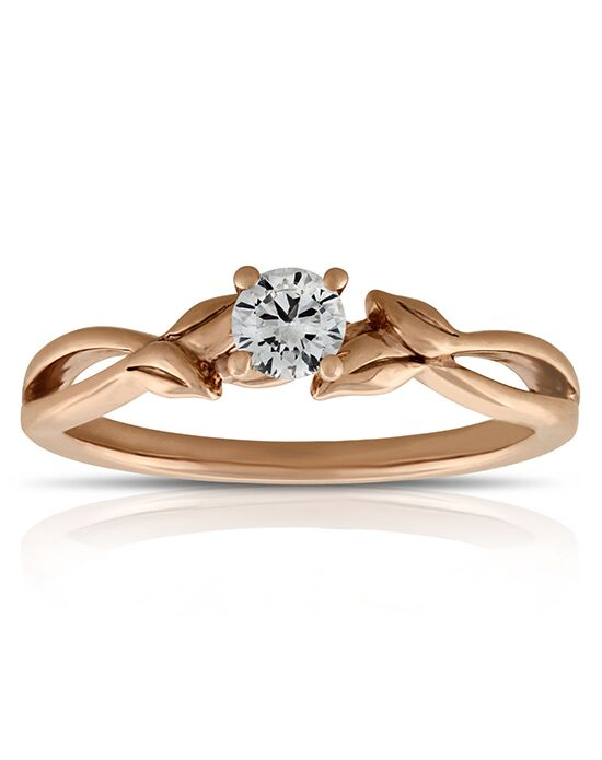 Ben Bridge Jeweler Rose Gold Ikuma Canadian Diamond Engagement
