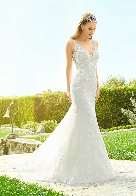 Moonlight Couture H1336 Mermaid Wedding Dress
