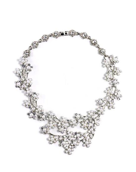 Anna Bellagio Penelope Statement Necklace Wedding Necklace photo