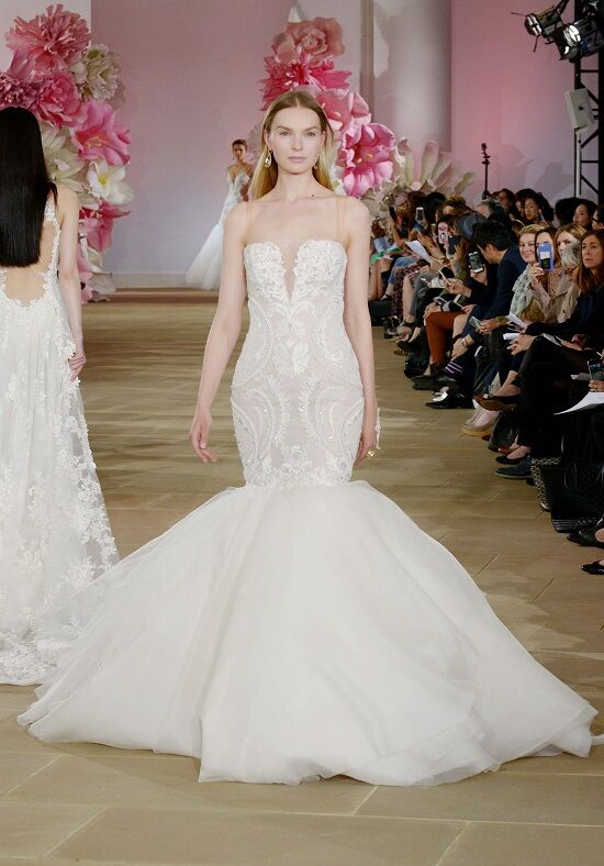 Ines Di Santo Spectacular Mermaid Wedding Dress