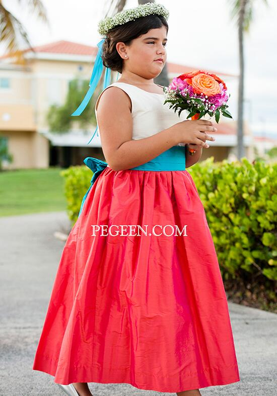 Pegeen.com  398 Flower Girl Dress photo