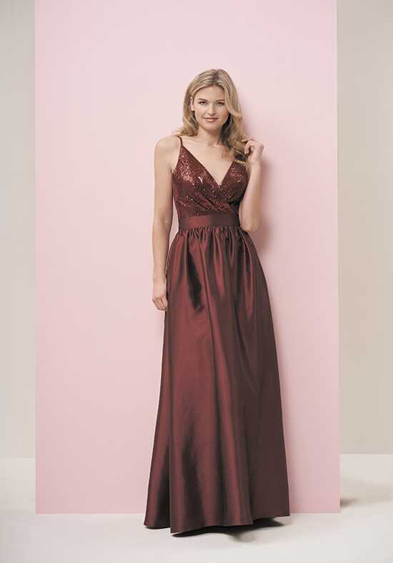 JASMINE P196059 V-Neck Bridesmaid Dress