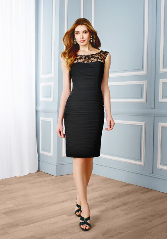 Val Stefani Celebrations MB7536 Black Mother Of The Bride Dress