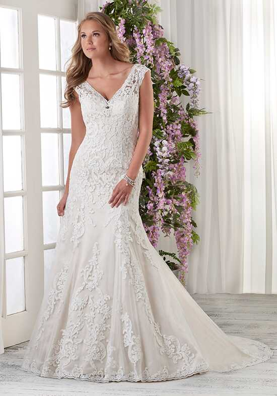Bonny Bridal 601 Sheath Wedding Dress