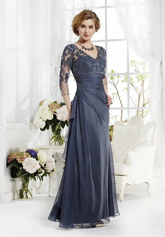 Jade J165012 Gray Mother Of The Bride Dress