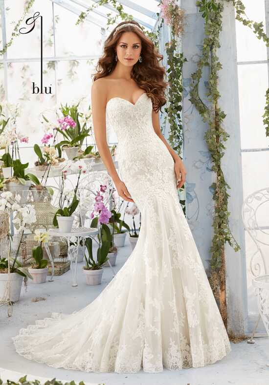 Morilee by Madeline Gardner/Blu 5413 Sheath Wedding Dress