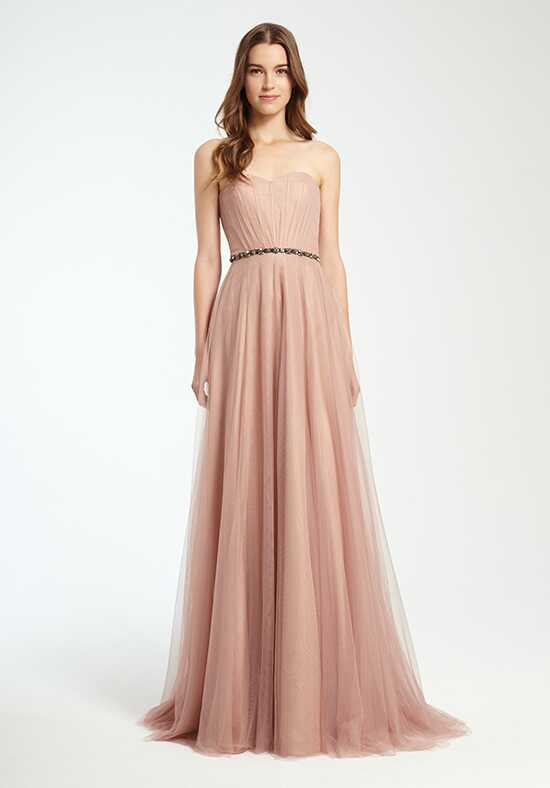 Monique Lhuillier Bridesmaids 450352 Strapless Bridesmaid Dress