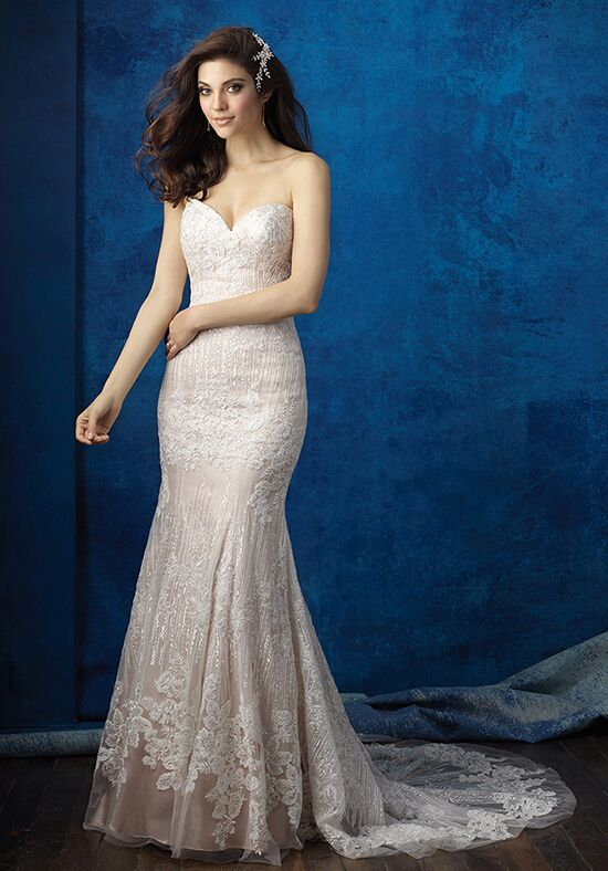 Allure Bridals 9350 Sheath Wedding Dress