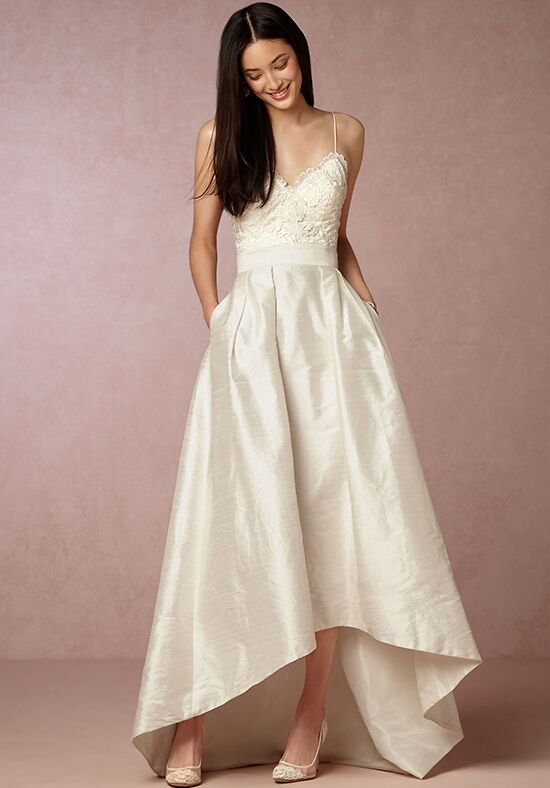 BHLDN Havana Corset Top & Bellamy Skirt Wedding Dress - The Knot