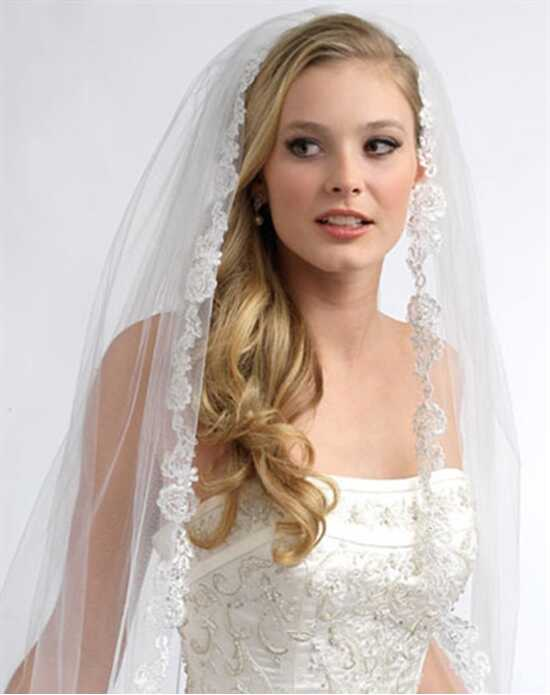 USABride 1 Layer, Angelic French Lace Veil VB-5016 Veil