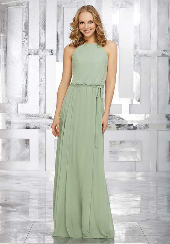 Morilee by Madeline Gardner Bridesmaids Style 21543 Halter Bridesmaid Dress