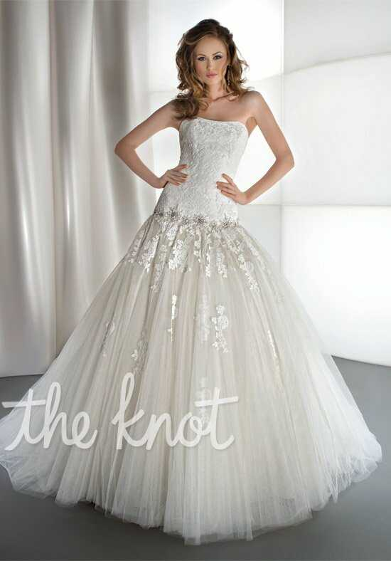 Demetrios 1439 Ball Gown Wedding Dress