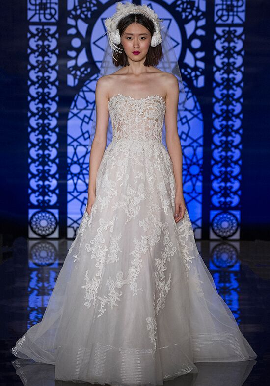 Reem Acra Felicity A-Line Wedding Dress
