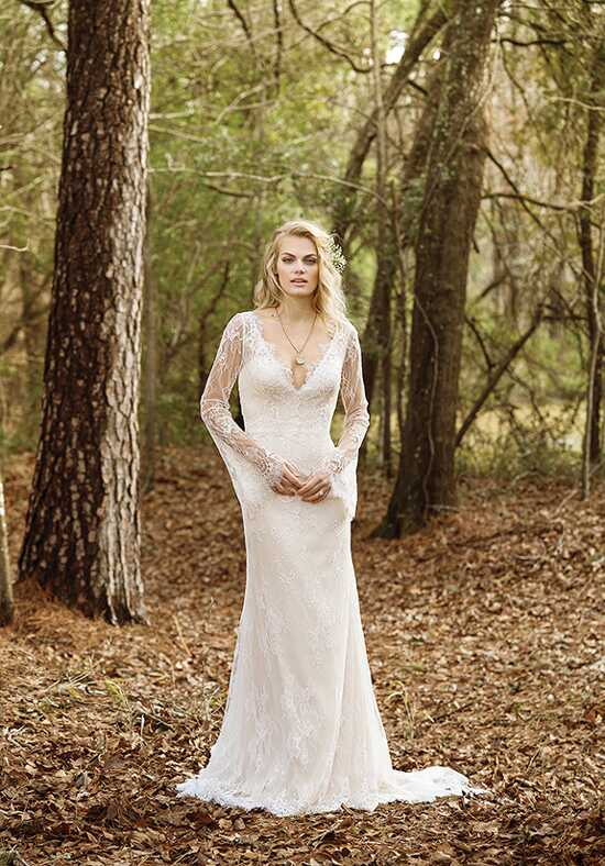 Lillian West 6463 Sheath Wedding Dress