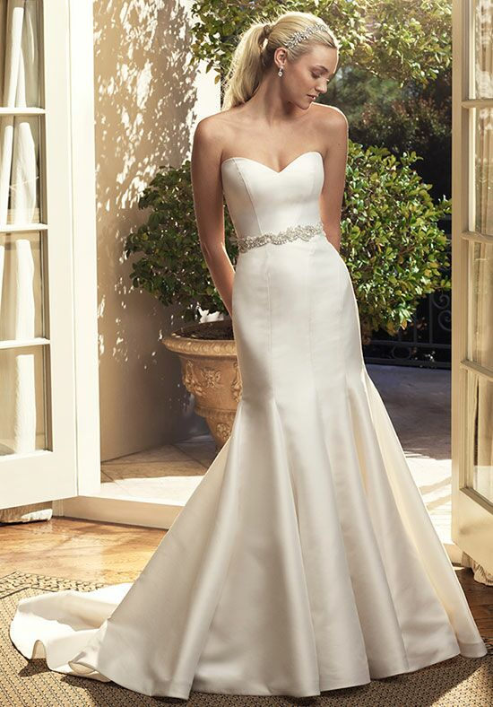 Casablanca Bridal 2223 Mermaid Wedding Dress