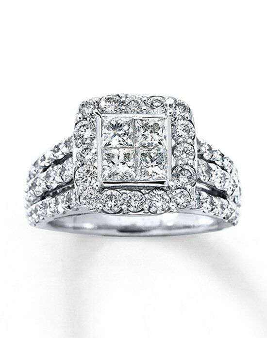 kay jewelers 80454515 white gold wedding ring - Wedding Rings At Kay Jewelers