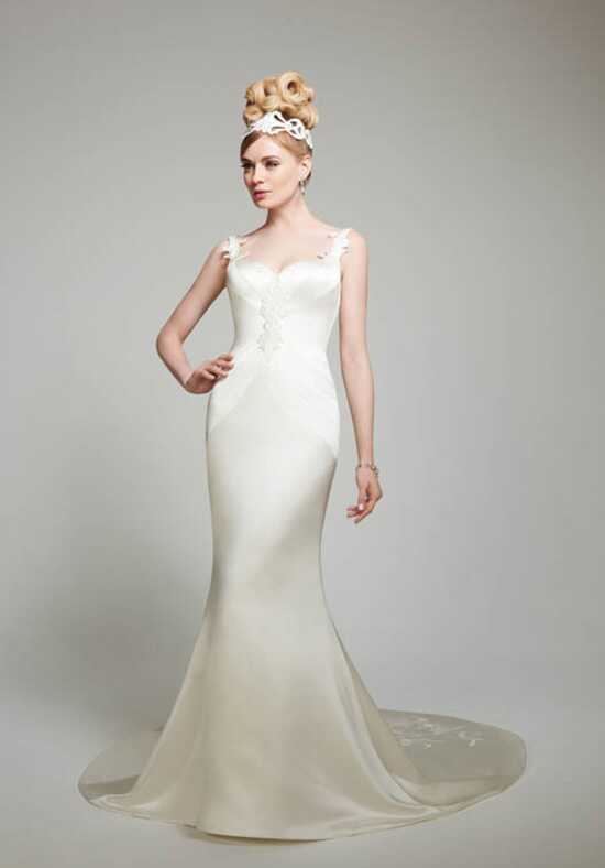 Matthew Christopher Trinity Mermaid Wedding Dress