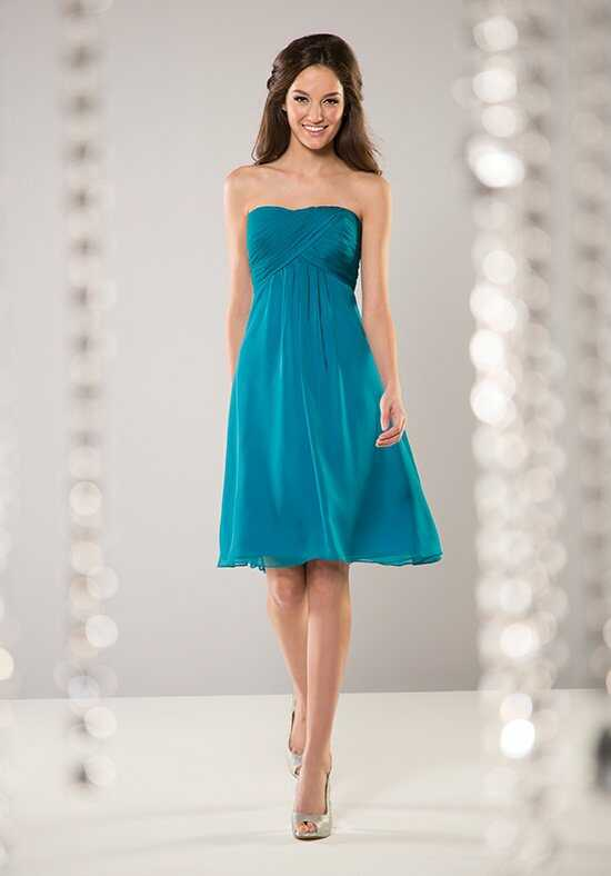 B2 by Jasmine B163062 Strapless Bridesmaid Dress