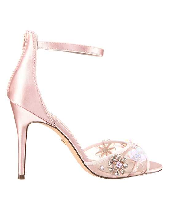 Nina Bridal Wedding Accessories Clarity Black, Ivory, Pink Shoe